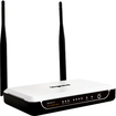 On-Q/Legrand - IEEE 802.11n Wireless Router - Black, White - Black, White