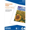 Epson - Watercolor Radiant White Inkjet Paper, 13 x 19, 20/Pack - White
