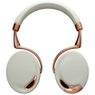 Parrot - Touch-Activated Bluetooth Headphones Bundle with Zorro Sounds Cleaning Cloth - Rose Gold - Rose Gold