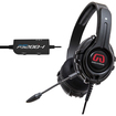 GamesterGear - Cruiser P3200 I Over Ear Stereo Headset for Sony PlayStation PS3 / PS3 Slim / PS4 - Black - Black