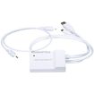 Monoprice - Mini Displayport Male and USB Male/Toslink Audio to HDMI Female Converting Adapter