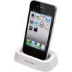 Monoprice - Docking Station for all 30-pin iPhone and iPod - White
