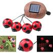 AGPtek - Smart Solar Ladybug Solar Light for Decorating Shrubs Flowerbeds and Garden