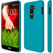Empire - KLIX Slim-Fit Hard Case for LG G2 D800 D801 D802 D803 LS980 (NOT for Verizon/International Model) - Soft Touch Teal - Soft Touch Teal