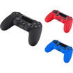 eForCity - Silicone Skin Case and Silicone Skin Case and Silicone Skin Case For Sony PlayStation 4 (PS4) - Black, Blue, Red