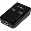 Startech - 2 Port 2-to-1 USB 3.0 Peripheral Sharing Switch USB Powered - Black