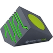 GOgroove - BlueSYNC EDG Portable Wireless Bluetooth Speaker w/ Rechargeable Battery & Green LED Glow Lights