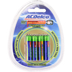 Monoprice - ACDelco Insta-Use (Pre-Charged) 800mAh Ni-MH AAA Battery 8-Pack