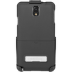 Seidio - BD2-HR3SSGT3K-BK SURFACE Hard Case with Kickstand & Holster Combo for Samsung Galaxy Note III - Black