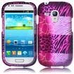 Insten - Exotic Skins Case for Samsung Galaxy S III mini i8190 - Pink Exotic