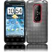Insten - TPU Rubber Gel Skin Case Cover for HTC Evo 3D/HTC Evo V 4G - Smoke