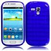 BasAcc - TPU Rubber Gel Skin Case Cover for Samsung Galaxy® S3 SIII Mini i8190 - Blue - Blue