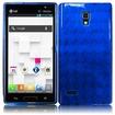 BasAcc - TPU Rubber Gel Skin Case Cover for LG Optimus L9 P769 - Blue - Blue