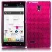 BasAcc - TPU Rubber Gel Skin Case Cover for LG Optimus L9 P769 - Pink - Pink
