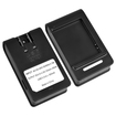 eForCity - Desktop Battery Charger for Samsung Galaxy Note 3 Note III N9000 - Black - Black