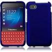Insten - Hard Snap-On Rubberized Case Cover for Blackberry Q5 - Blue