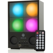 GOgroove - MOVE L3D Rechargeable MP3 Speaker System w/ Adjustable Mood Lights & Wireless Remote for MP3 Players - Multi