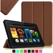 Fintie - SmartShell Slim Case Cover for Amazon Kindle Fire HDX 7 (2013 Model) - Brown