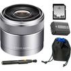 Sony - Bundle DSLR SEL30M35 SEL-30M35 30mm F3.5 Nex Lens