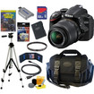 Nikon - Bundle D3200 24.2 MP CMOS Digital SLR