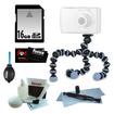 Joby - Bundle JB01250-0EN GorillaPod - Flexible Camera Tripod for Point & Shoot Cameras