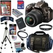 Nikon - Bundle D5200 24.1 MP CMOS Digital SLR Camera (Bronze)