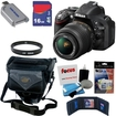 Nikon - Bundle D5200 24.1 MP CMOS Digital SLR Camera (Black)