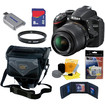Nikon - Bundle D3200 24.2 MP CMOS Digital SLR