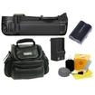Nikon - Bundle MB-D10 MBD10 Multi-Power Battery Pack for D300 & D700