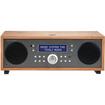 Tivoli Audio - Music System Two Compact Bluetooth Hi Fi System with Clock Radio Alarm - Cherry, Metallic Taupe