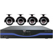 Night Owl - 4 Channel 960H DVR with HDMI 500 GB HDD and 4 x 480 TVL Cameras (30ft NV)