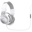 JBL - Synchros S500 Over-Ear Headphones with In-Line Mic & Controls - White - White