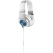 AKG - K545 Closed-Back Over-Ear Headphones with In-Line Apple Compatible Mic & Controls - White - White