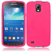 Insten - Silicone Skin Case for Samsung Galaxy S4 Active i537 - Pink