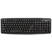 Rosewill - 107 Normal Keys USB Wired Standard Keyboard - Black - Black