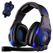 Image - 7.1 Surround Professional Headset Pro Games Gaming Headphones - Black