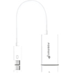 Fosmon - Slimport MyDP Micro USB to HDMI Cable Adapter - Connect Slimport Devices to HDTV/Monitor/Projector - White - White