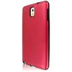 MPERO - FUSION AL Series Protective Case f/ Samsung Galaxy Note 3 N900A N900V N9000 N9002 N9005 N900P N900T - Red - Red