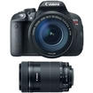 Canon - EOS Rebel T5i w/ EF-S 18 135mm IS STM Kit + EF-S 55-250mm f/4-5.6 IS STM