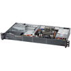 Super Micro - SuperServer 1U Rack Server - Intel Atom C2750 2.40 GHz - Black