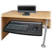 Kensington - SnapLock Keyboard Tray with SmartFit System - Black
