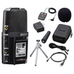 Zoom - Bundle H2N Handy Recorder Digital Audio Handheld Musicians Recording Device