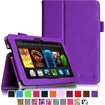 """Fintie - Folio Case for Kindle Fire HDX 7 (will only fit Amazon Kindle Fire HDX 7"""" 2013 Model) - Violet"""