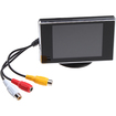 "Image - 3.5"" TFT LCD Color Screen Car Rearview Monitor,640 x 480, 4:3, V1/V2 Input - Black"