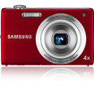 Samsung - 12.2 Megapixel Compact Camera - Red