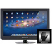 "Music Computing - 32"" Touchscreen Upgrade Kit - Instantly turns your LCD or LED into a touchscreen (10-touch) - Black - Black"