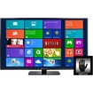 "Music Computing - MotionCOMMAND® 42"" 10-touch LED Touchscreen and TV (Win7, Win8, Mac OS X) - Black"