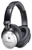 Audio-Technica - QuietPoint Active-Noise-Canceling Over-the-Ear Headphones - Black