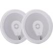 Poly-Planar - Titanium Speaker - 50 W RMS - 200 W PMPO - 3-way - 2 Pack - White