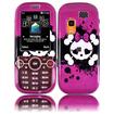 Insten - Skull Case For Samsung Gravity 2 T469/T404G - Pink Skull